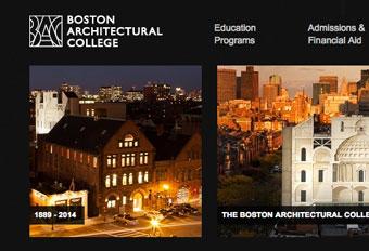Boston Architectural College Screen